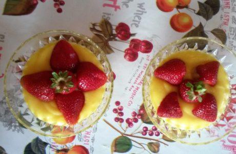 Fragole e crema pasticcera 460x300 Strawberries and custard