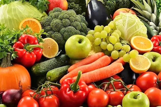 Frutta e verdura 1 3 pasti al giorno