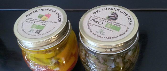Peperoni Melanzane Conserve 700x300 Peperoni e Melanzane la bont dell 8217 orto bio anche in inverno