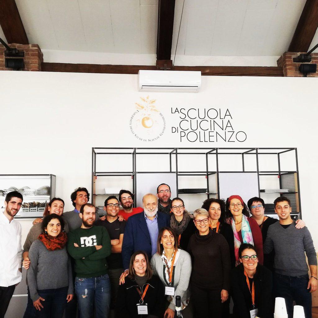 Petrini ed il gruppo 1024x1024 Cultura e Promozione Gastronomica a Pollenzo 8230 un 8217 esperienza unica