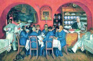 boriskustodiev1916 320x210 The table represents pleasure history art and conviviality