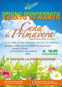 festa primavera spigno monferrato