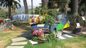 macchina e fiori 300x169 Villa Cheti ad Euroflora 2018