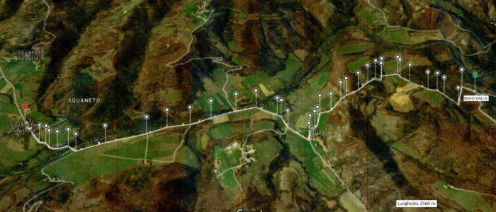 percorso 4 bivio valla squaneto 1 700x300 I sentieri vicino a Villa Cheti Squaneto sentiero nr 4