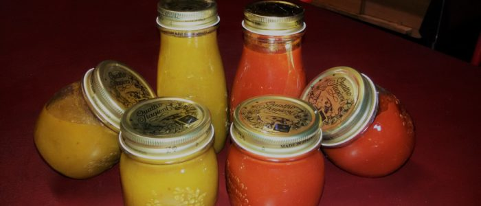 vasetti pomodoro 700x300 Evviva la salsa di pomodoro 8230 verde