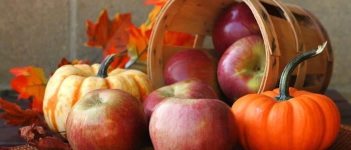 zucche e mele 700x300 Chips di mele di zucca